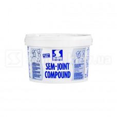 Готовая шпаклевка для  заделки стыков ГКЛ SEM-JOINT COMPOUND, 7 кг