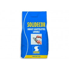 Декоративная шпаклевка механизированное нанесение SOLIDECOR LAVABLE, 25 кг